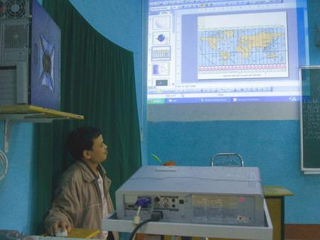 Độc đáo bộ giáo trình điện tử môn Địa lý cấp 2